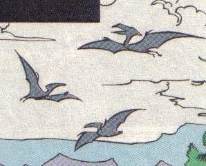 Quetzalcoatlus (?) (CB-Topps)
