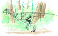 "Carnotaurus sastrei ""chameleo"" (*) (C/N)"