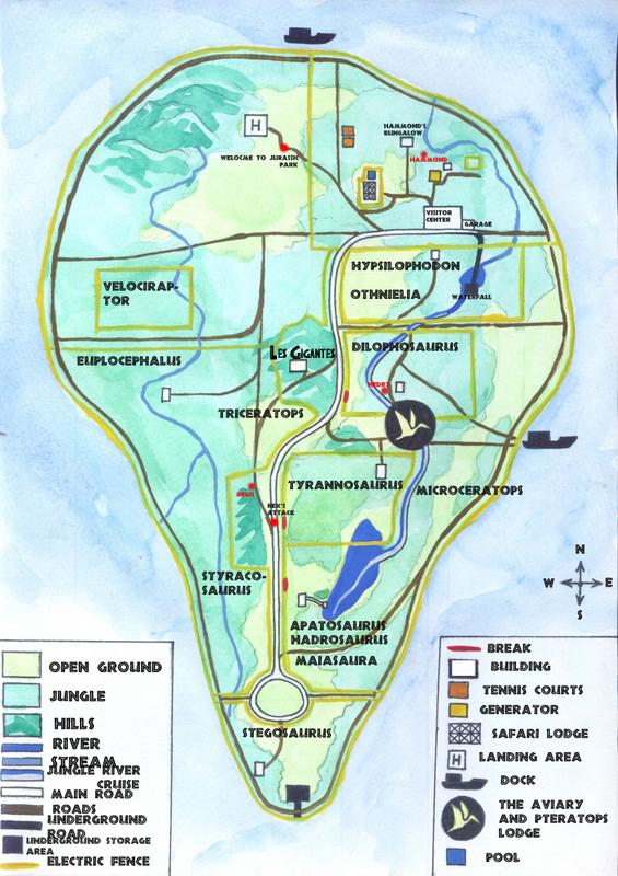Isla Nublar: Juric Park (C/N) | Juric-Pedia on