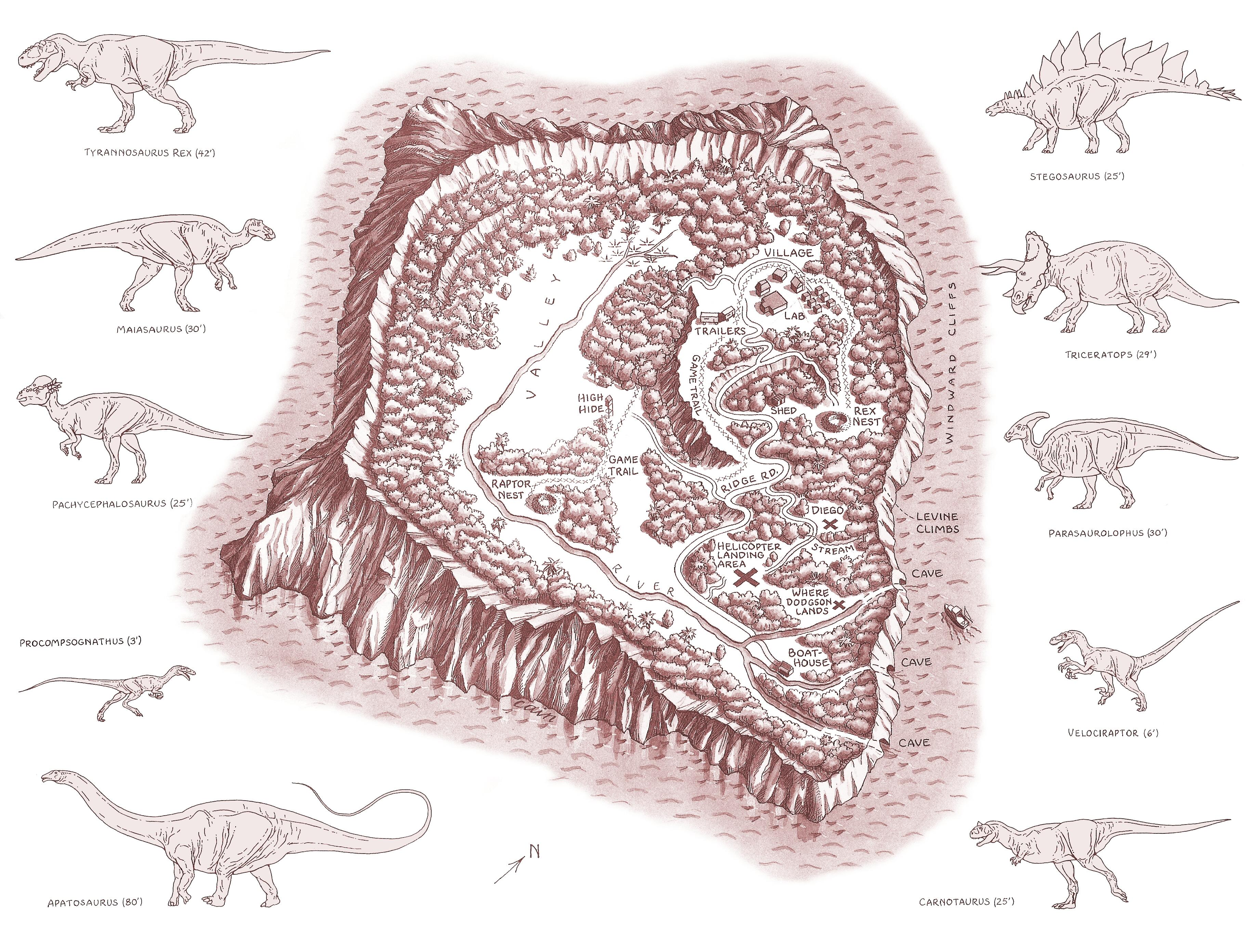 Isla Sorna: Site B (C/N) - Jurassic-Pedia