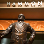 Statue of Hammond in Creation Lab