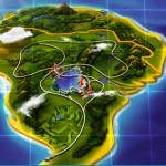 Jurassic World Nublar Map
