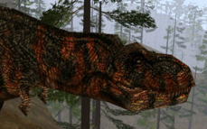 Tyrannosaurus that appears in The Ascent: Part 1.