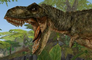 Tyrannosaurus, styled after The Lost World male.
