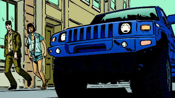 InGen SUV (IDW-DitD)