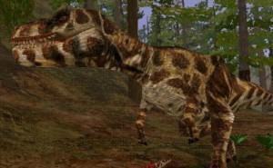 Albertosaurus sarchophagus (T/C)