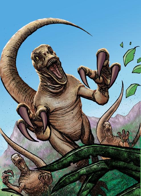 """Velociraptor """"antirrhopus nublarensis"""" (IDW-JPR)"""