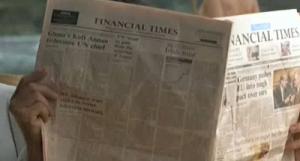 Financial Times Newspaper (S/F)