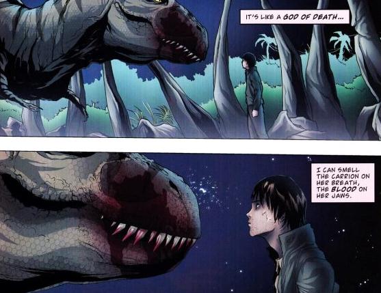 Tyrannosaurus rex (IDW-DG)
