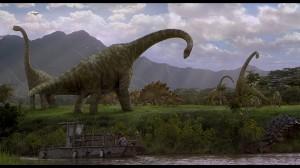 Dinosaur Riverside Landscape (Beauty Shot) - Isla Sorna (S/F)