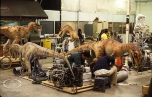 Velociraptor Practical Effects (TLW)