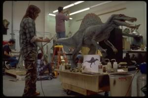 Spinosaurus Animatronic