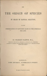 Title page of the first edition book.