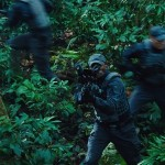 ACU member firing Netgun